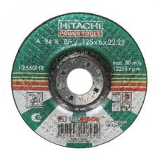 Круг зачистной  150*6*22 по металлу А24 HITACHI