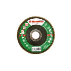 Круг лепест. торцевой 125*22 HAMMER 213-008 Р60