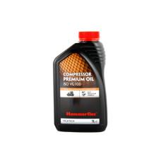 Масло Hammerflex компрессорное 1,0л 501-012