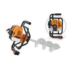 Мотобур Carver AG-152/000 1,9л/с D пос-20мм 52см/куб без шнека