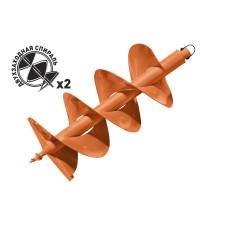 Шнек для грунта D 300мм (двухзаход) Carver