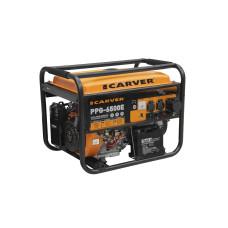 Бензогенератор CARVER PPG-6500Е 5,0/5,5кВт 25л обмотка медь,стартер
