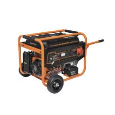 Бензогенератор Carver PPG-8000Е-3 220/380  эл.старт колеса
