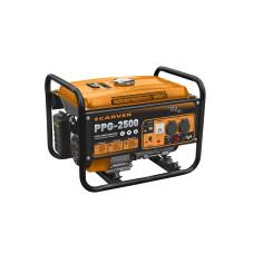 Бензогенератор Carver PPG-2500 2,1/2,3кВт бак 15л обмотка медь