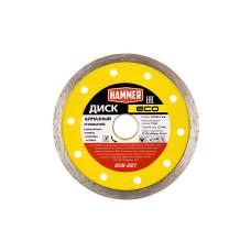 Диск алмазный Hammer ECO 125*22мм сплошной/206-227