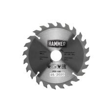 Диск пильный Hammer 185*30/20/16мм-24зуб/205-108