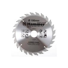 Диск пильный Hammer 190*30/20/16мм-24зуб/205-111