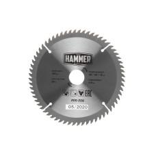 Диск пильный Hammer 190*30/20/мм-64зуб ламинат/205-206