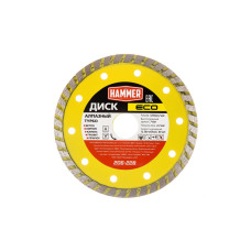 Диск алмазный Hammer ECO 125*22мм турбо/206-228