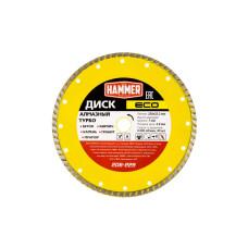 Диск алмазный Hammer ECO 230*22мм турбо/206-229