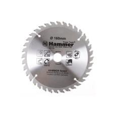 Диск пильный Hammer 160*20/16мм-36зуб/205-104