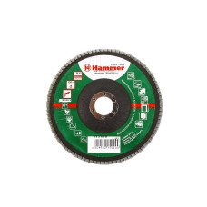 Круг лепест. торцевой 150*22 HAMMER 213-011 Р60