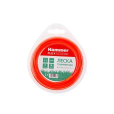 Леска Hammer  D 2,0мм L15м (круглая, красная)/216-105
