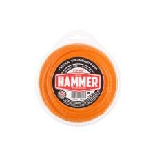 Леска Hammer D 2,7мм L15м витой квадрат/216-816