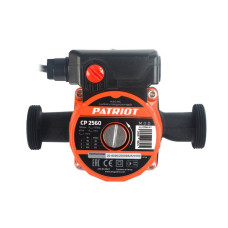 Насос циркуляц. Patriot CP 2560 40/68/100Вт напор 6м,D-25мм кабель 0,9м,евровилка в комп.д/отопл.