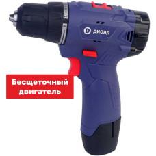 Дрель-шуруповерт аккумуляторная Диолд ДЭА-12 ЛИ-09 б/щеточная