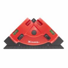 Уровень лазер.MATRIX  маркер,угольник/35007