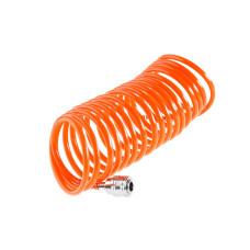 Шланг спиральный Wester  5м 5*8мм с адаптерами БРС/814-007